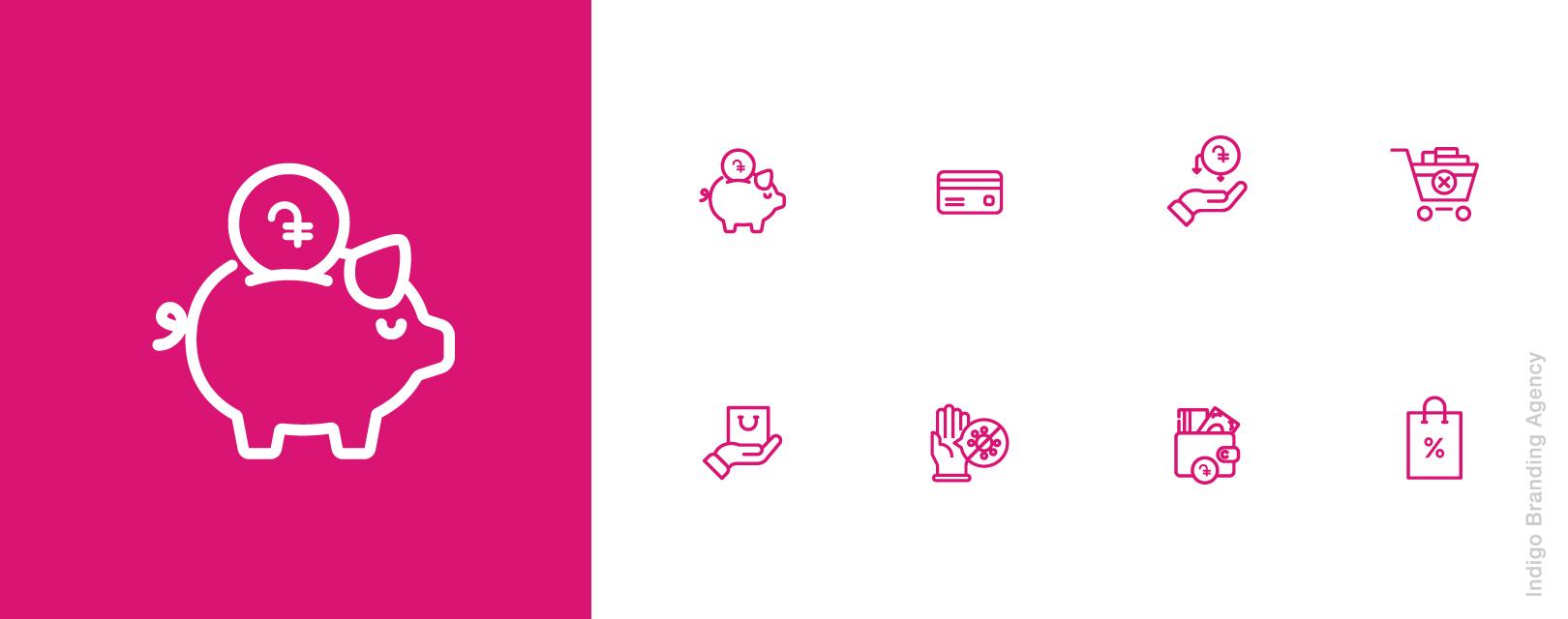 My Finance Month (MFM) branding and logo design by Indigo branding