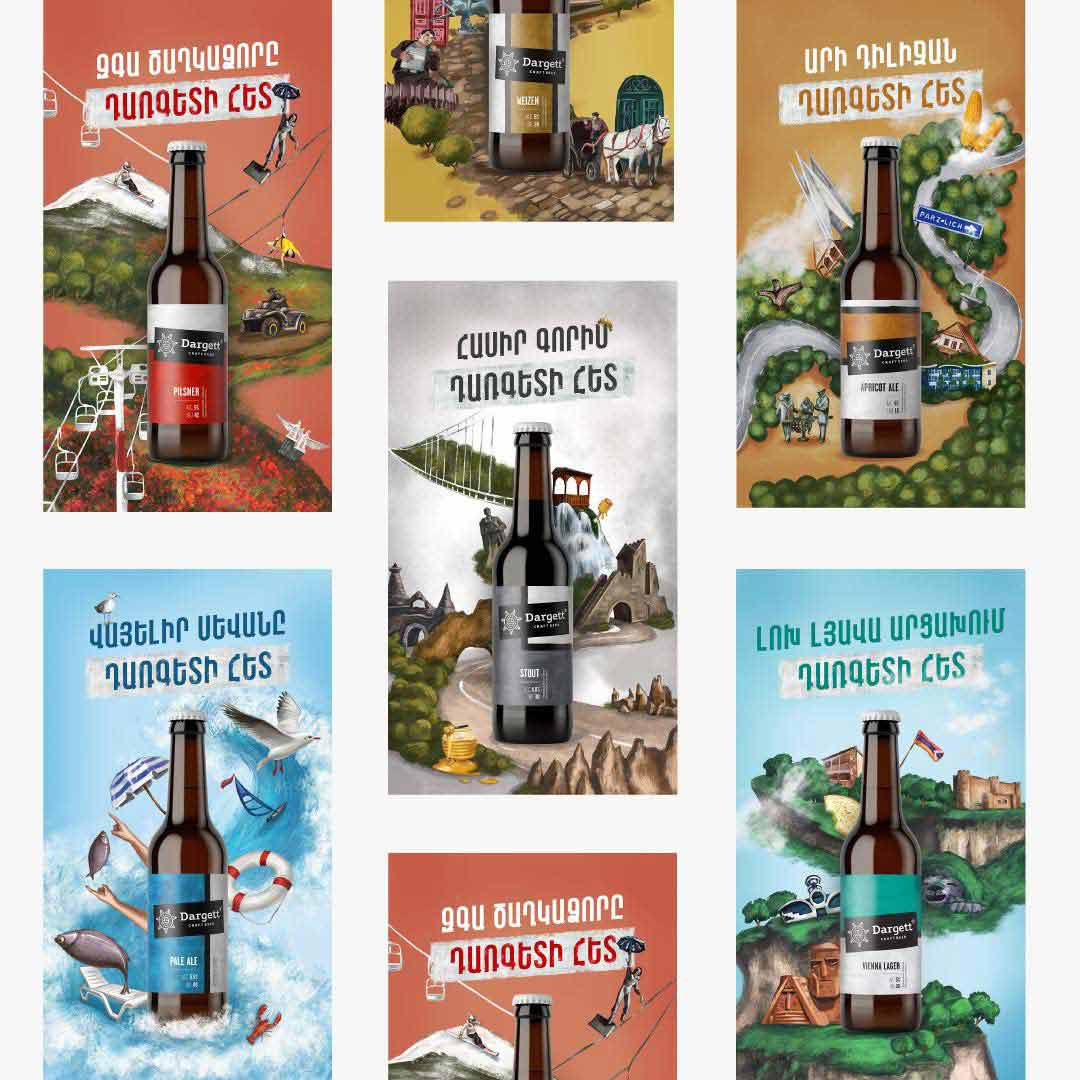 Dargett Outdoor Ad Campaign